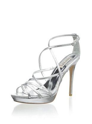 56% OFF Badgley Mischka Women's Adonis II Platform Sandal (Silver)