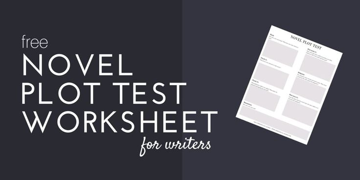 Want to make sure your novel idea is ready for NaNoWriMo? I created a Novel Plot Test worksheet to help you put your idea to the test. Click through for your copy ----->