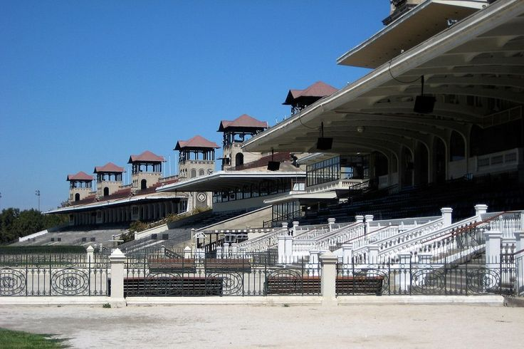 Grandstand at Club Hipico in Santiago, Chile