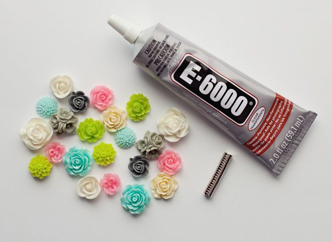 DIY Resin Flower Magnets Supplies