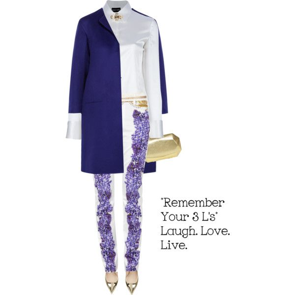 Pants by JUST CAVALLI by fashionmonkey1 on Polyvore