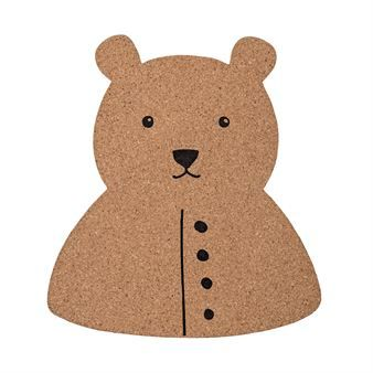 These adorable pin boards are by the Danish design brand Bloomingville. The boards are made of cork and are part of the popular Mini range - a range with playful products for the