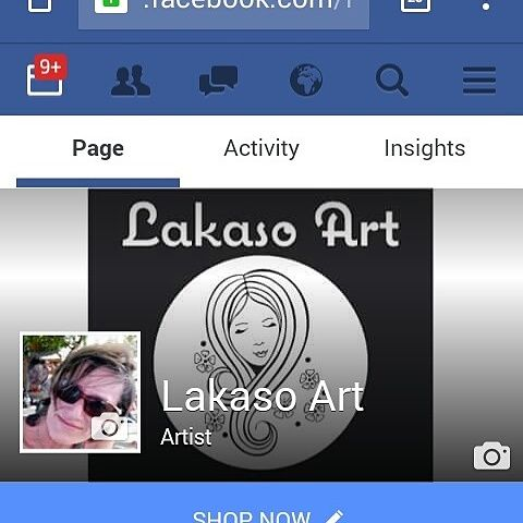I now have a facebook page to share updates from my website & my Etsy Shop www.facebook.com/lakasoart