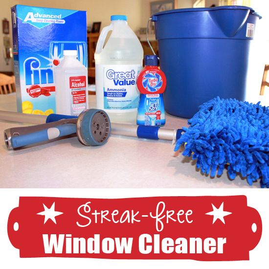 Streak Free Window Cleaner No Squeegee Required Window Free And Household