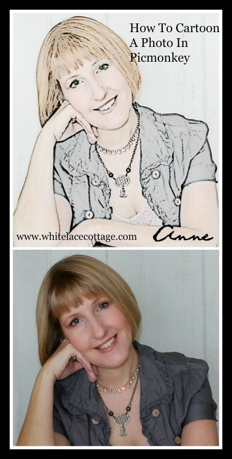 How To Make A Cartoon Photo In Picmonkey - White Lace Cottage