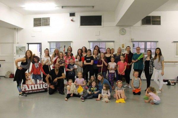 Annie Dance Workshop at Pineapple Dance Studios
