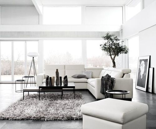 Gotta lova an all white  grey interior with fluffy carpet