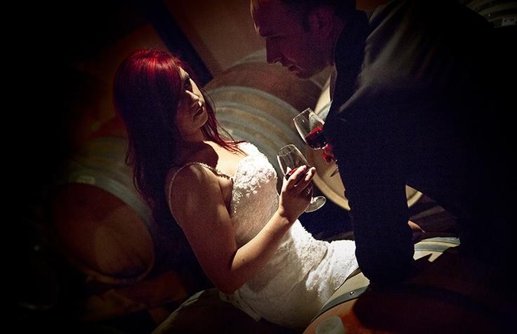 Γάμος, wedding, bride, groom, wine cellar,