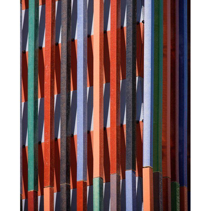 Facade - NBK Terracotta TERRART Baguette from Hunter Douglas Contract