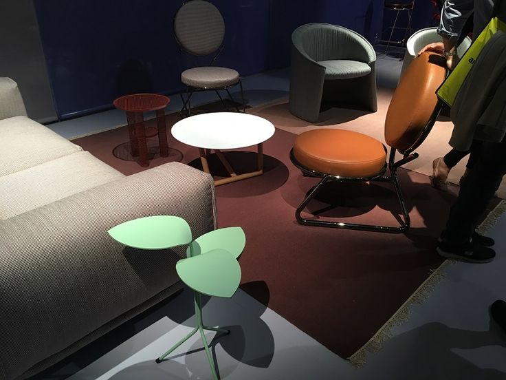Moroso design world   coffee table and armchair   http://www.malfattistore.it/en/2016/04/malfattistore-milan-design-week-2016/ #malfattistore #interiordesign #shoponline #italiandesign