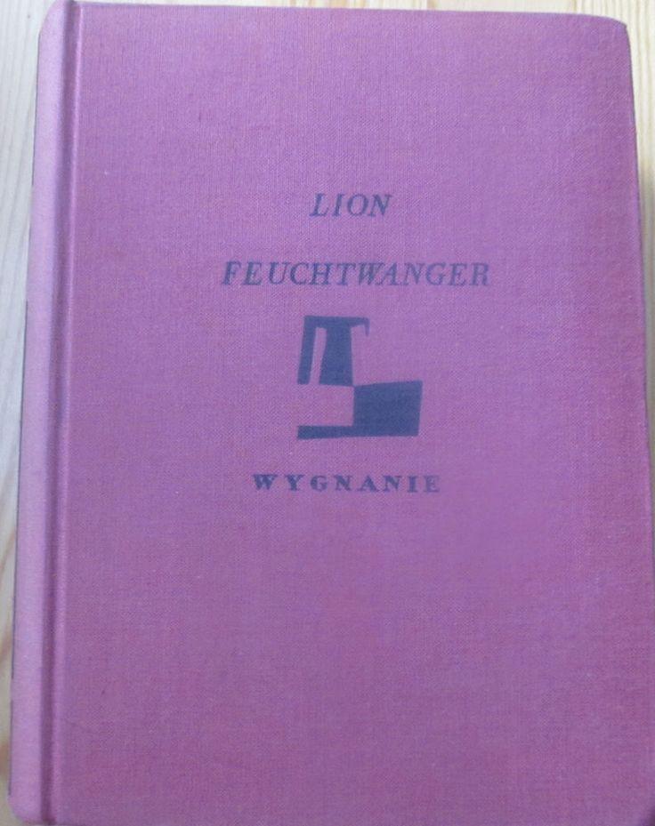 LION FEUCHTWANGER  WYGNANIE/Exil, 1937–39