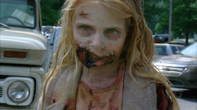 Famous Zombies: Little girl from The Walking Dead ... About ...