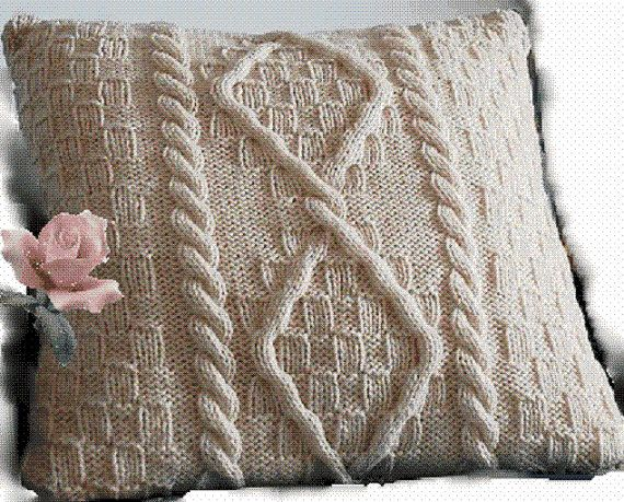 24 Best Knitted Cushions And Other Things Images On Pinterest