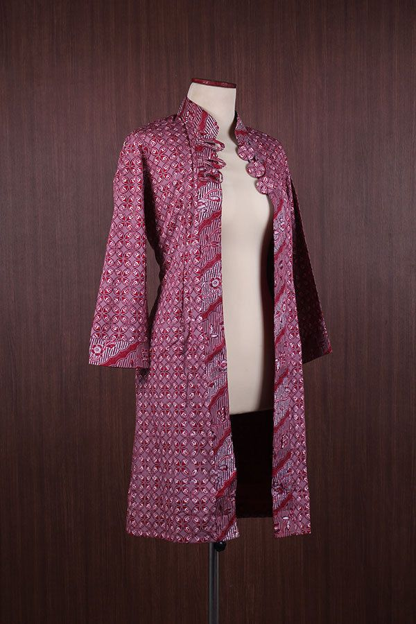 Luxury Indonesian Traditional Bolero Maxi Unique Cotton Batik Tunic Kaftan | eBay