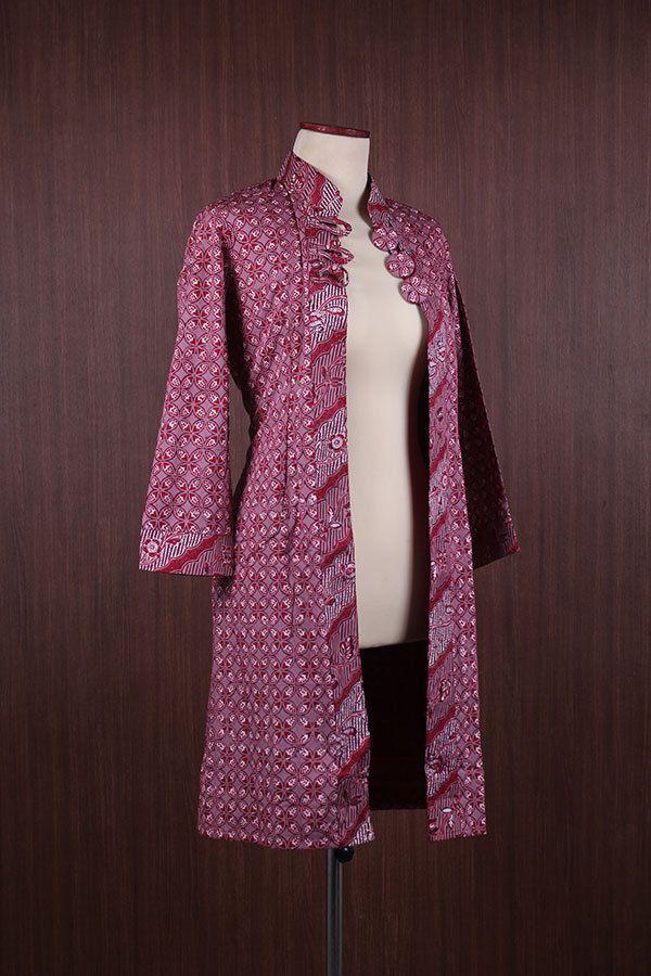 Luxury Indonesian Traditional Bolero Maxi Unique Cotton Batik Tunic Kaftan | eBay