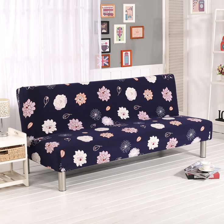 Folding Sofa Covers Elastic Without Arm Printed Sofa Covers Furniture Cover  Sofa Bed Covers For Living Part 73