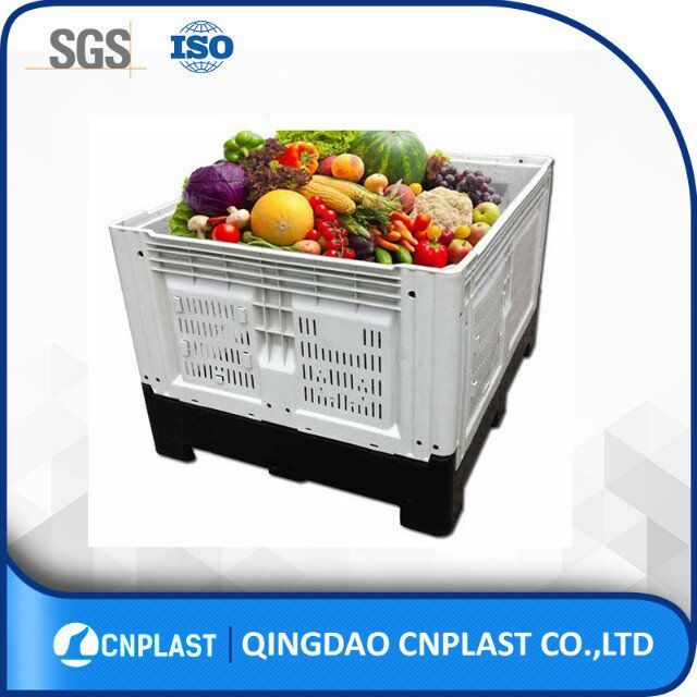 Top food plastic crate fruit and vegetable storage box bins for sale