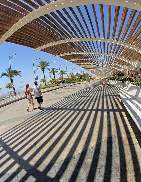 Paseo Vista Alegre  Torrevieja Shadows by rob pitt, via Flickr