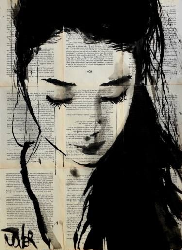 "Saatchi Art Artist Loui Jover; Drawing, ""sometimes yes"" #art"