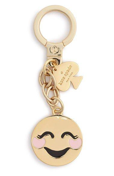 kate spade new york 'blushing emoji' bag charm available at #Nordstrom