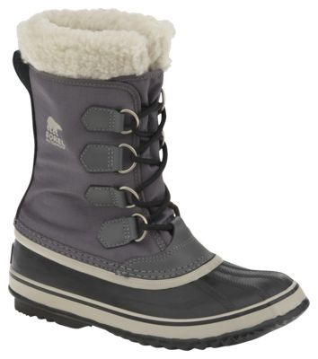 Sorel Winter Carnival Waterproof Insulated Boots for Ladies - Pewter/Black - 10