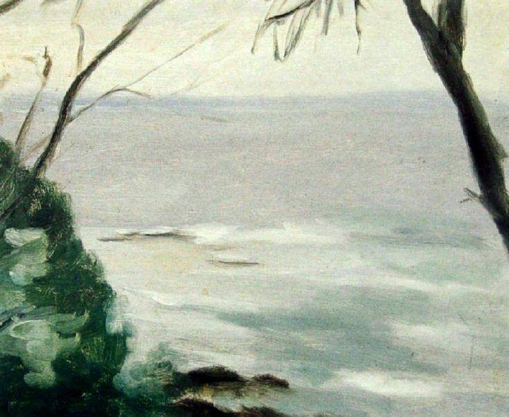 Beach Scene Clarice Beckett