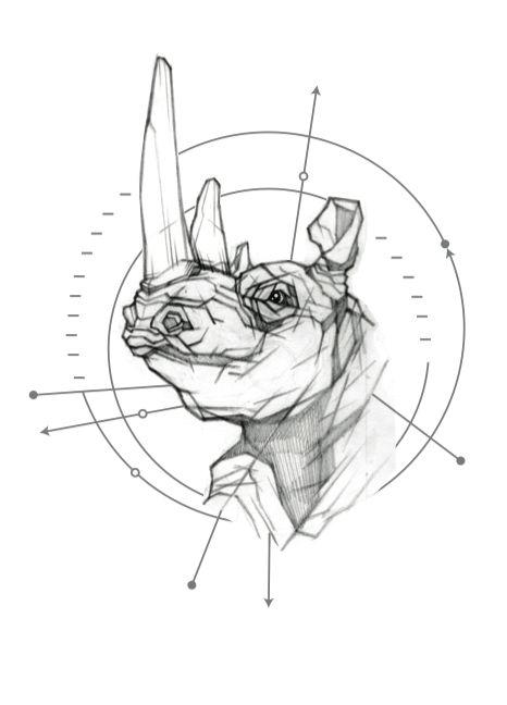Idea tattoo rhino                                                                                                                                                                                 More