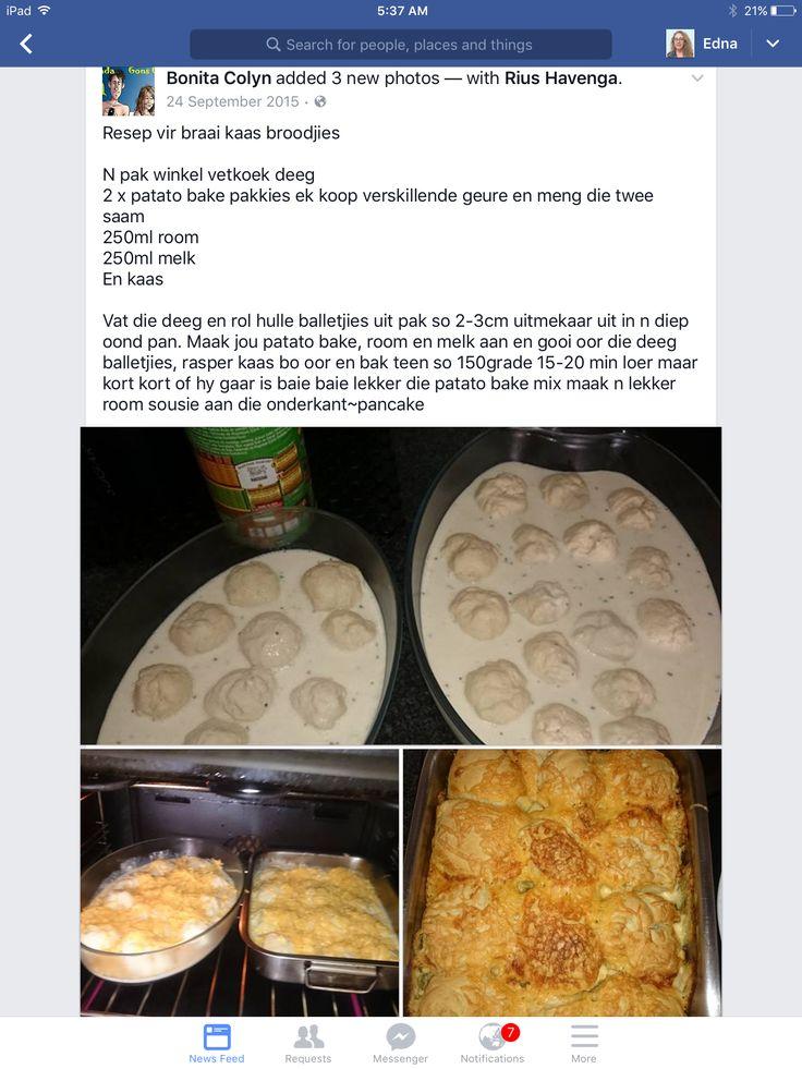 Braai potbrood rolletjies