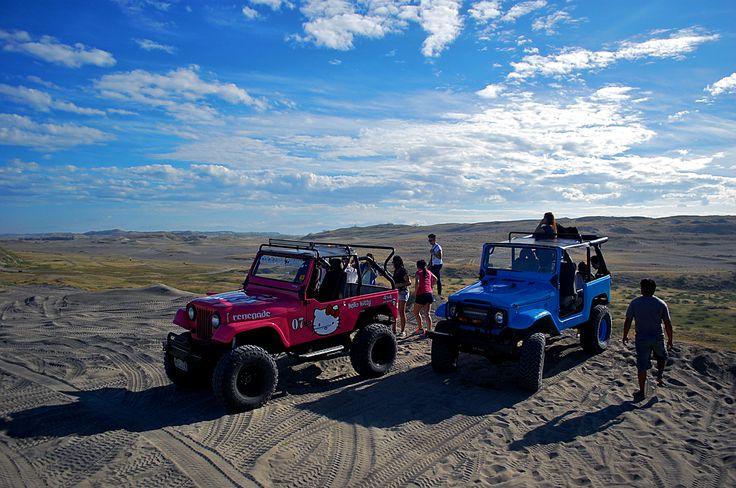 La Paz Sand Dunes, Ilocos Norte, Philippines #travel #travelph #ilocos…