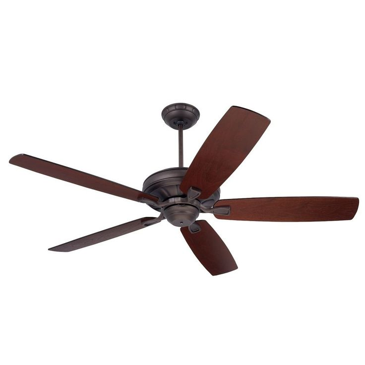 emerson carrera 60inch oil rubbed bronze ceiling fan with reversible blades oil rubbed bronze metal - Remote Control Ceiling Fans