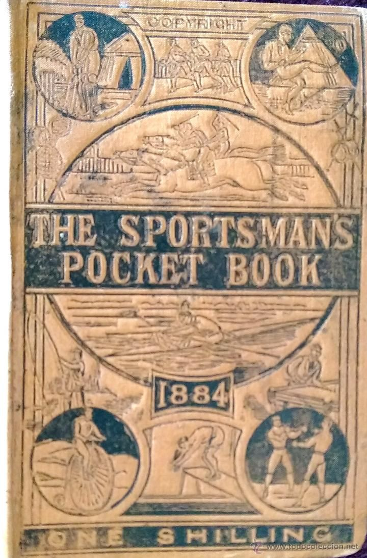 THE SPORTMAN'S POCKET BOOK, CALENDARIO DEPORTIVO, FUTBOL 1883,1884