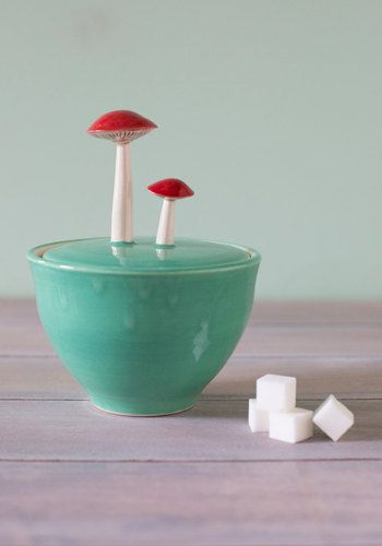 Forage for Sweets Sugar Bowl | Mod Retro Vintage Kitchen | ModCloth.com ... haha cute