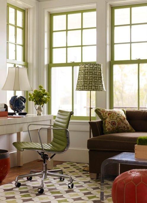 sash window green