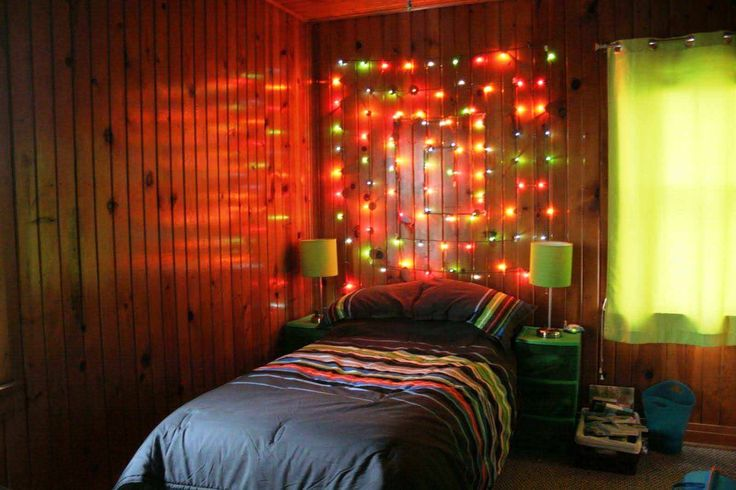 Marvellous Christmas Lights In Bedroom