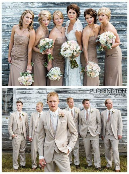 Bridal Party Hairstyles Bridesmaid Color Schemes 47 Trendy Ideas