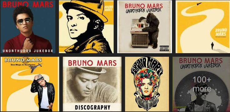 Albums by Bruno