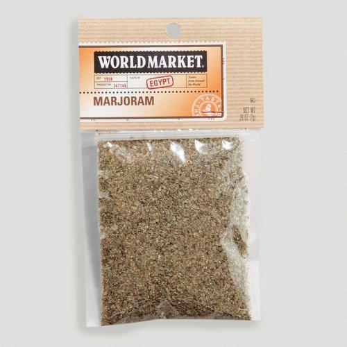 One of my favorite discoveries at WorldMarket.com: World Market® Marjoram Spice Bag
