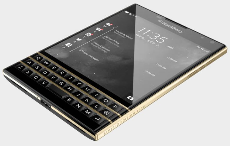 The BlackBerry Passport is quite a looker and is regarded as a premium, high-end device as it is, however that hasn't stopped companies from 'customizing'