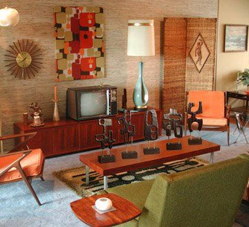 1188 best images about mid century a go go on pinterest for Rooms to go 1960