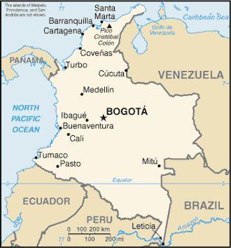 Una Ciudad importante en Colombia es Bogota