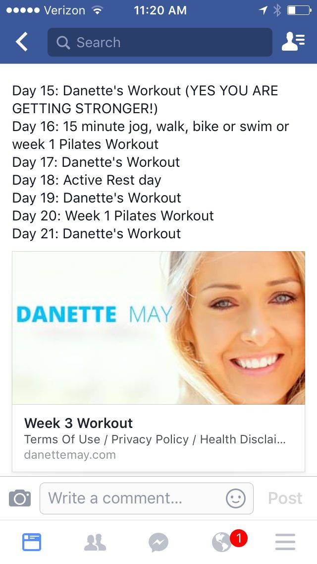 WEEK 3 DETAILS | Danette May 30 Day Challenge | Pinterest ...