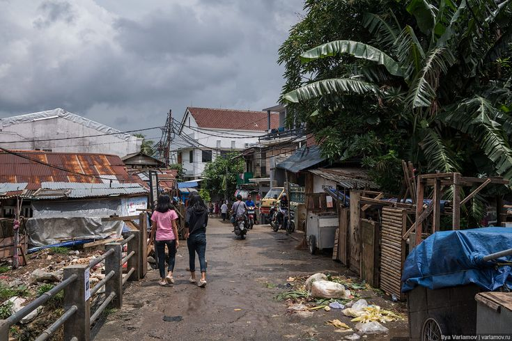 Джакарта, Индонезия: мир дворцам – война хижинам! – Варламов.ру