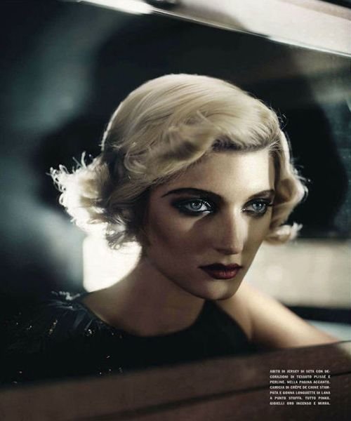 Sophie Sumner photographed by Vincent Peters for Vogue Italia, August 2012