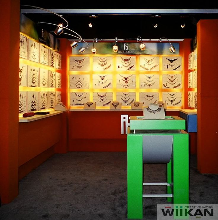 AyalaBar - Custom booth for NYC Accessory show