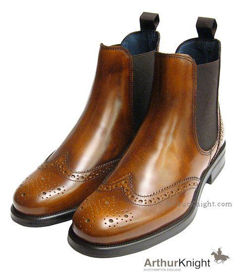 London Tan Ladies Chelsea Boot