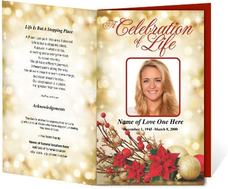 78 images about Program Templates – Sample of Funeral Programs
