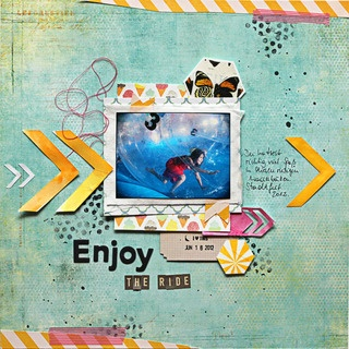 Enjoy the ride by scrap2010 at Studio CalicoScrapbook Ideas, Scrapbook Projects Life, Scrapbook Inspiration, Scrapbook Crafts Projects, Studios Calico, Scrapbook Layout, Scrapbook Gallery, Favorite Scrapbook Crafts, Buckets Ideas