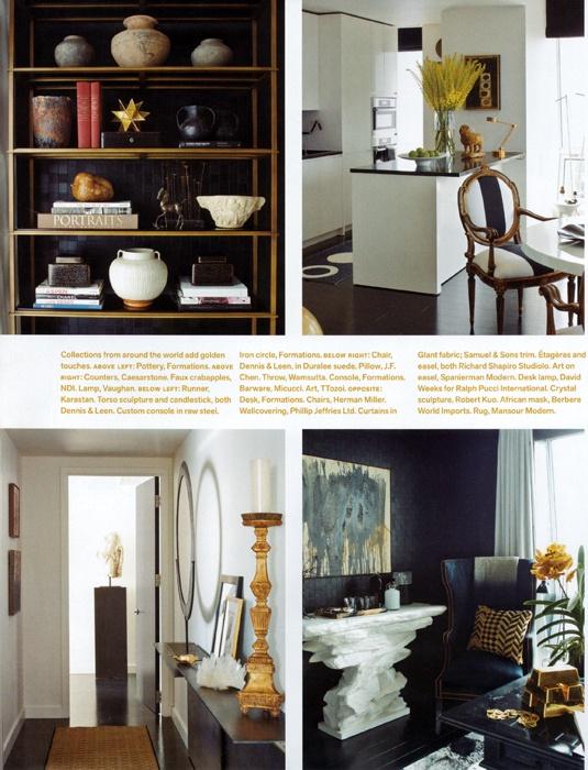 Richard Hallberg's choices of embellishments (all mediums) & furnishings is  stellar!