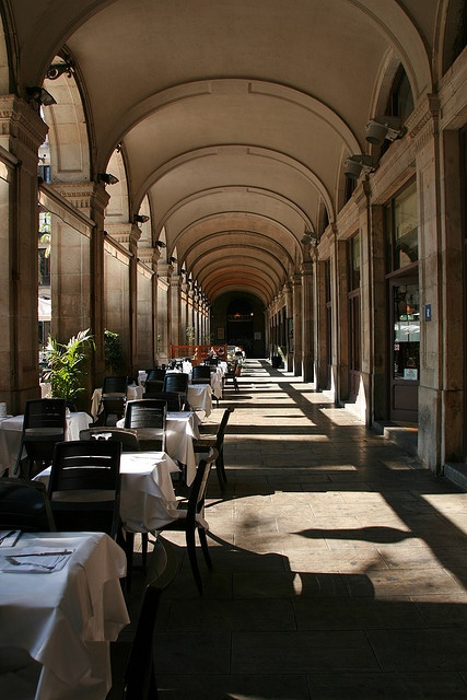 "Barcelona Plaça Reial, and next to it, one restaurant ""Crema Canela"" good food and good prices!"