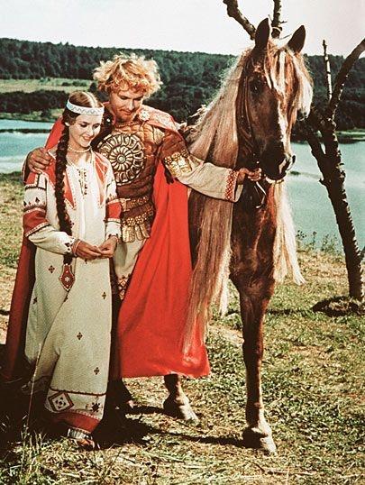 ясный сокол Финист (Finist the Bright Falcon), old Russian fairy tale
